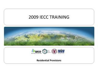 2009 IECC TRAINING