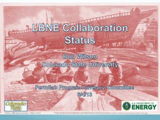 LBNE Collaboration Status