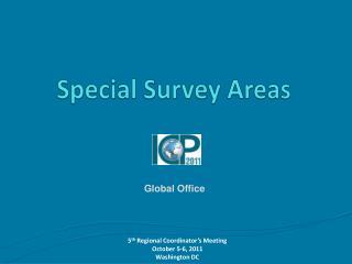 Special Survey Areas