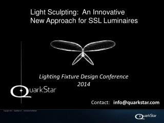 Lighting Fixture Design Conference 2014