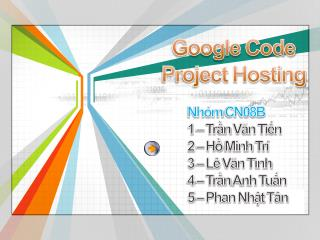 Google Code Project Hosting