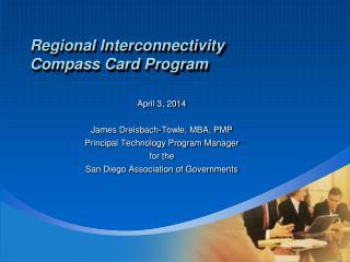 Regional Interconnectivity Compass Card Program