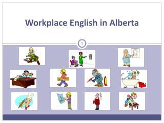 Workplace English in Alberta