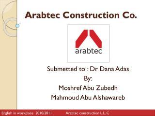 Arabtec  Construction Co.
