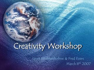 creativity workshop
