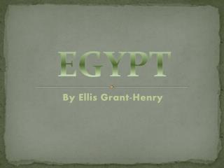 By Ellis Grant-Henry