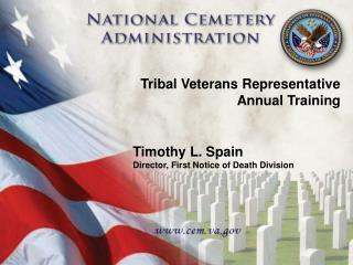 Tribal Veterans Representative Annual Training