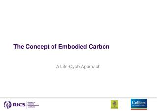 The Concept of Embodied Carbon