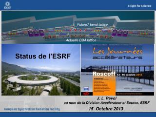 Status de l'ESRF
