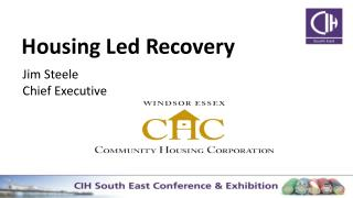 Housing Led Recovery