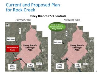 Current and Proposed Plan  for Rock Creek