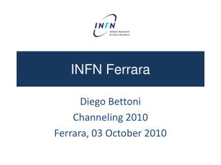 INFN Ferrara