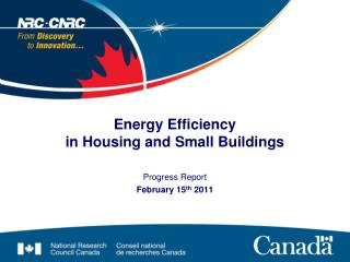 Energy Efficiency  in Housing and Small Buildings