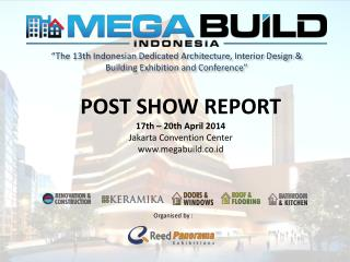 """The 13th Indonesian Dedicated Architecture, Interior Design & Building Exhibition and Conference"""