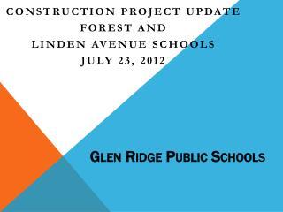 Glen Ridge Public School s