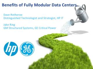 Benefits of Fully Modular Data Centers