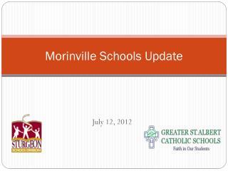 Morinville Schools Update