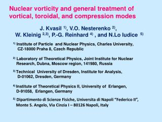 Nuclear vorticity and general treatment of  vortical, toroidal, and compression modes