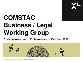 COMSTAC Business / Legal Working Group