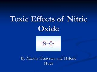 toxic effects of nitric oxide