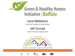 Cara Matteliano Community Foundation for Greater Buffalo Jeff  C onrad Center for Employment Opportunities