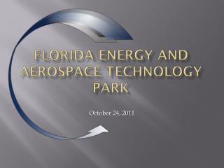 Florida Energy and Aerospace Technology Park