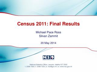 Census 2011: Final Results