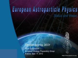 European Astroparticle  Physics