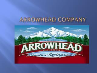 Arrowhead company
