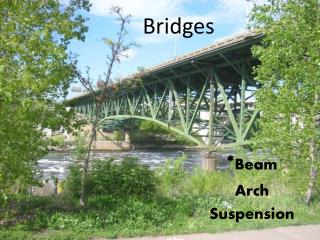 * Beam Arch Suspension