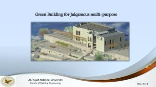 Green Building for  Jalqamous  multi-purpose