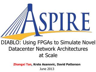 DIABLO: Using FPGAs to Simulate Novel Datacenter Network Architectures  at Scale