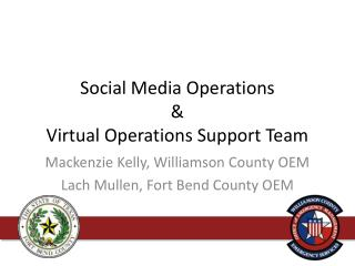 Social Media Operations & Virtual Operations Support Team