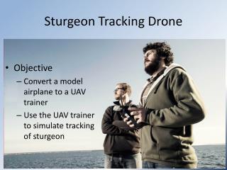 Sturgeon Tracking Drone