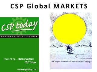 CSP Global MARKETS