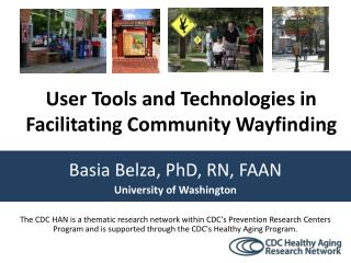 Basia Belza, PhD, RN, FAAN University of Washington