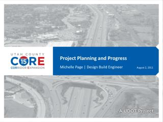 Project Planning and Progress