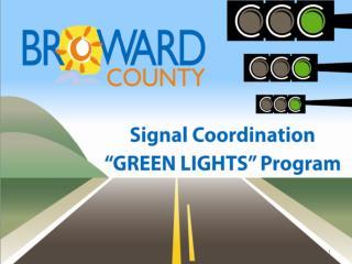 Green Lights Program Objectives