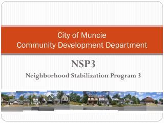 City of Muncie Community Development Department