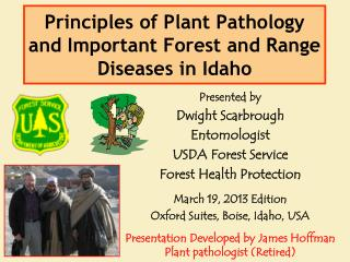 Principles of Plant Pathology and Important Forest and Range Diseases in Idaho