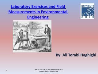 Laboratory Exercises and Field Measurements in Environmental Engineering