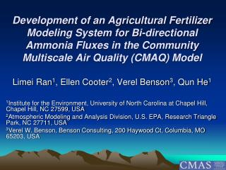 Development of an Agricultural Fertilizer Modeling System for Bi-directional Ammonia Fluxes in the Community Multiscale