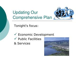 Updating Our  Comprehensive Plan