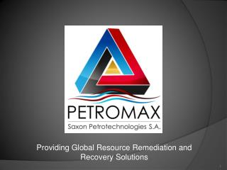 Providing Global  Resource Remediation and Recovery Solutions