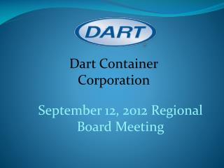 September 12, 2012 Regional Board Meeting