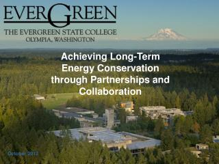 Achieving Long-Term Energy Conservation through Partnerships and Collaboration