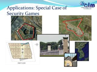 Applications: Special Case of Security Games