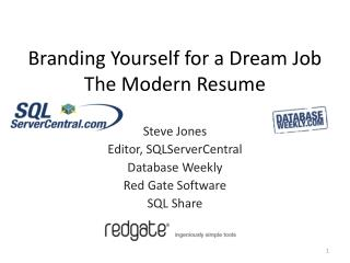 Branding Yourself for a Dream Job The Modern Resume