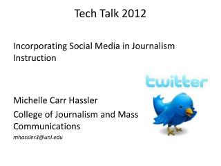 Tech Talk 2012