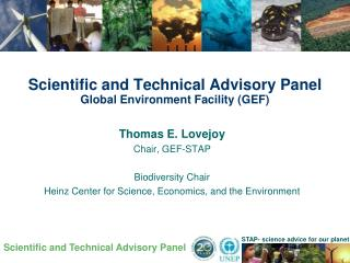 Scientific and Technical Advisory Panel Global Environment Facility (GEF)